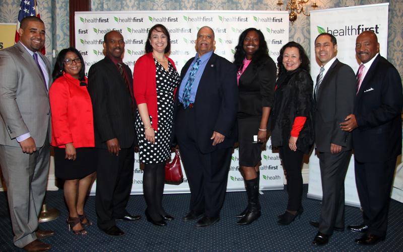 Evento realizado por la oficina de George Hulse ,VP de asuntos externos y la oficina de Selma Betancourt Directora de servicios a la comunidad de Healthfirst.