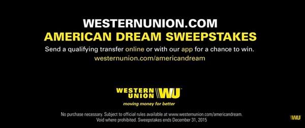 Wester Union American Dream