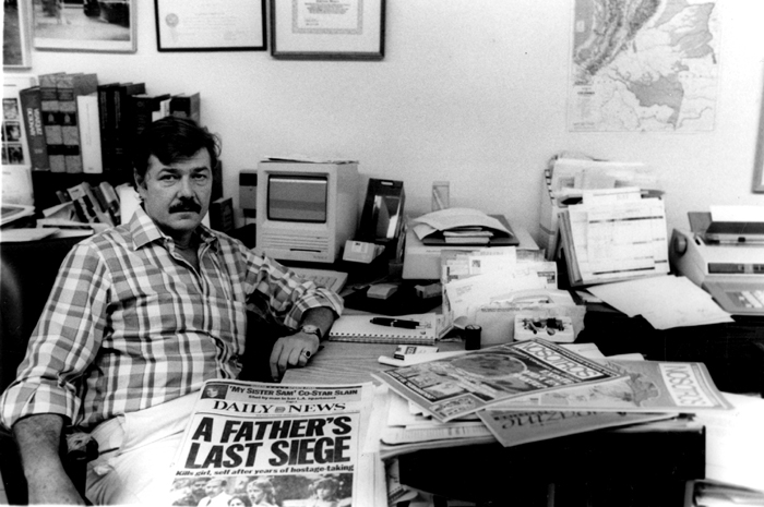 Carlos Velez in Maspeth, Queens, after leaving the Daily News.