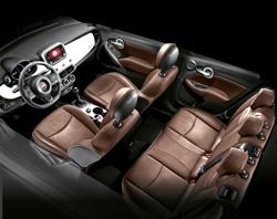 El interior de Fiat 500X.