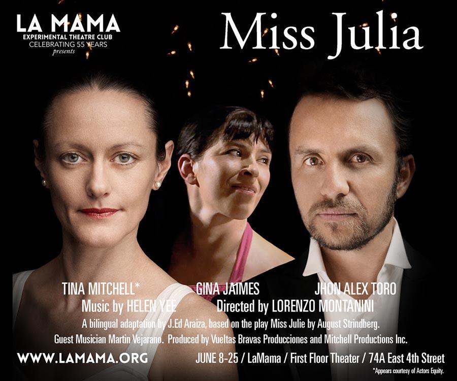 MIss Julia teatro