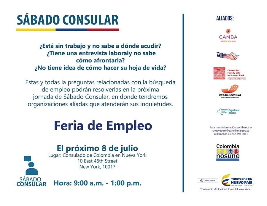 Sabado Consular Colombia NY