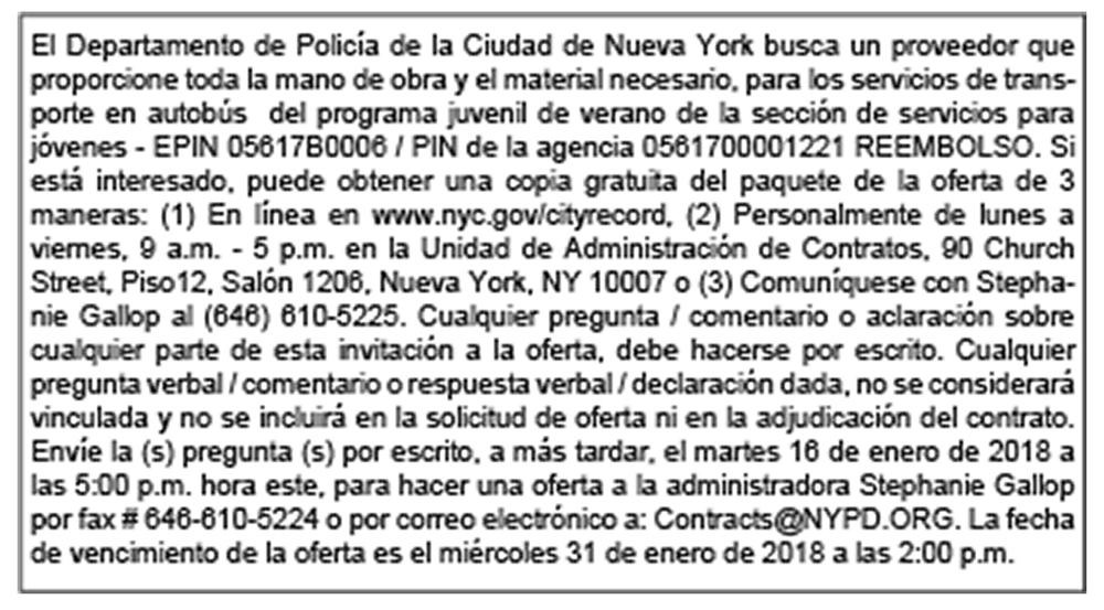 QL Jan 2018 NYPD Ad B&W