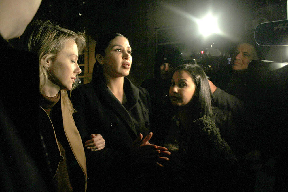 Al centro, la esposa del Chapo, Emma Coronel. Foto Humberto Arellano