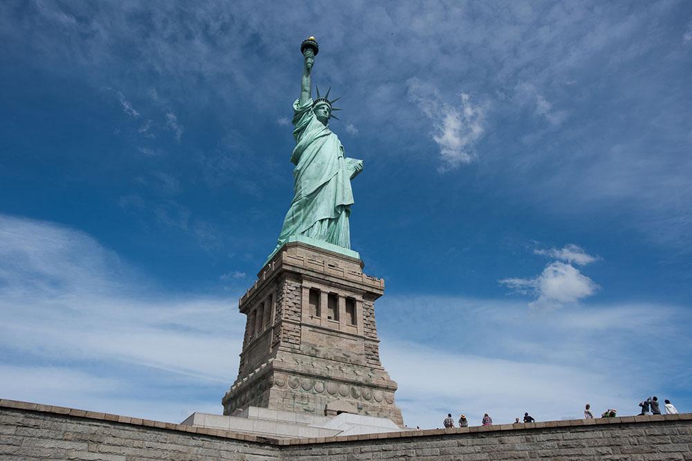 La Estatua de la Libertad es parte de la promoción. Fotos cortesía