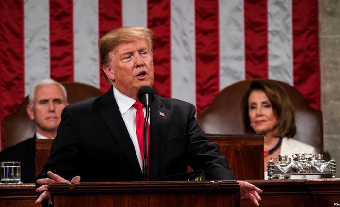 Trump quiere muro y Venezuela