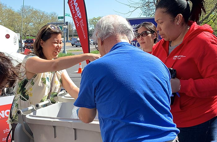 Rep. Meng and AARP Help Queens Residents Fight I.D. Theft at 'Operation: Stop Scams'