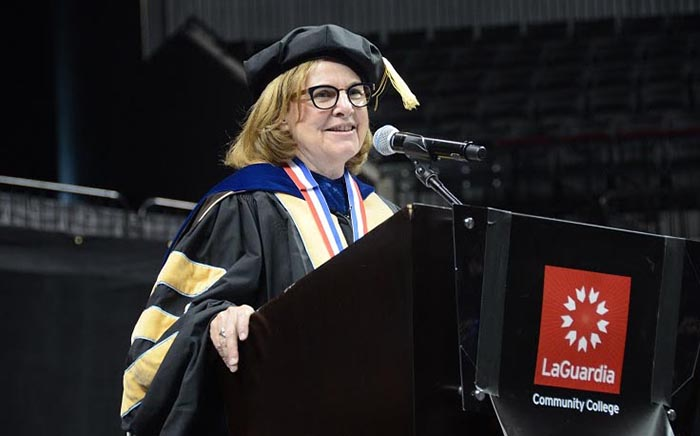 LaGuardia Community Colleges President Delivers Her Final Commencement Address