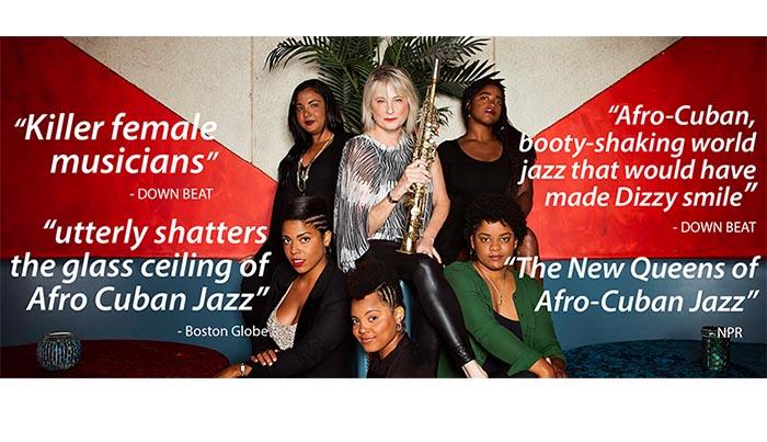 Jazz cubano de sólo mujeres en Flushing Town Hall