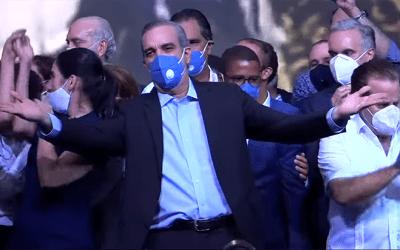 Luis Abinader nuevo presidente de República Dominicana