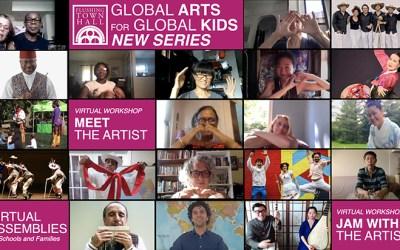 Flushing Town Hall con clases mundiales de arte para niños
