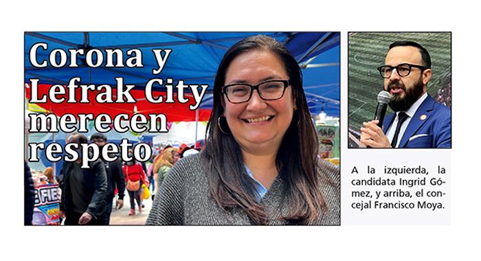 Francisco Moya no merece el voto latino
