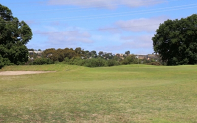 Queens Park Golf Club 8th Hole