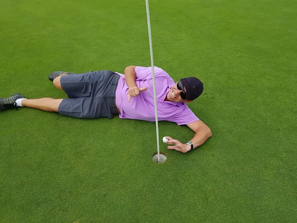 Pete Forbes –  A Hole in 1  AGAIN!