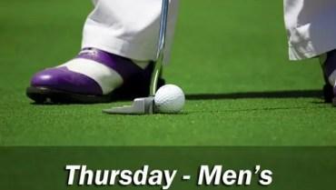 Club Comp – Thu (Men's)