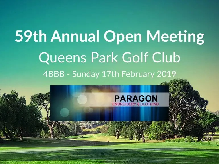 OPEN MEETING - Sun (Men's & Ladies)