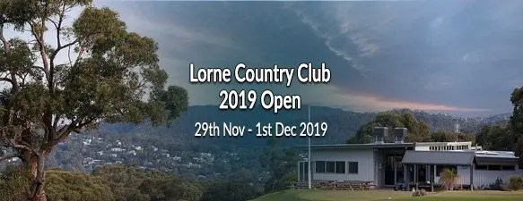 Lorne Country Club 2019 Open