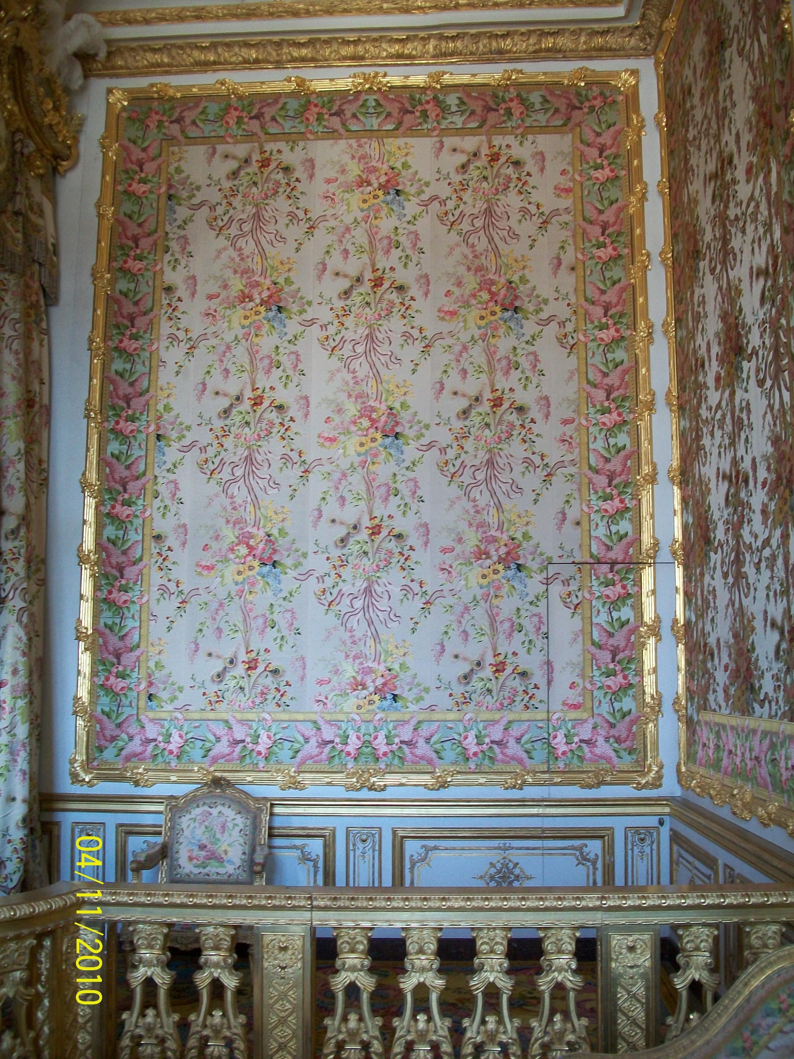 chateau de versailles  Marie Antoinettes Diamonds