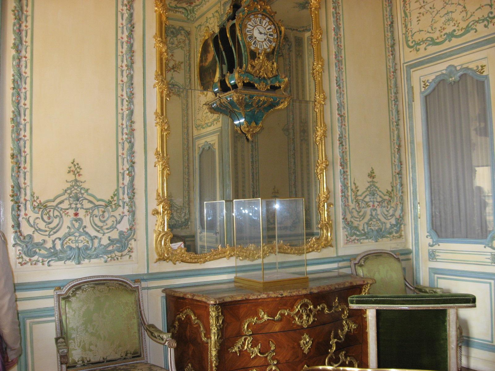 boiseries  Marie Antoinettes Diamonds
