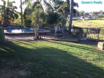 [14] Marburg 10 Acres - Backyard, Fence and Swimming Pool
