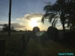 [17] Marburg 10 Acres - Frontyard Sunset
