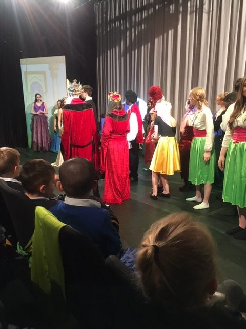Foundation Stage 1 and 2 went to see  The Pantomime Sleeping Beauty  at Barnsley College this week
