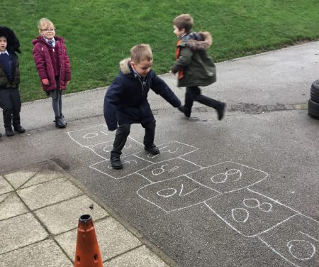 Hopscotch (and Maths!)