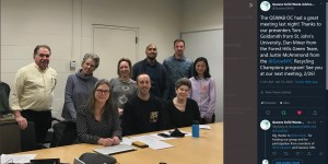 Meeting at LaGuardia Community College