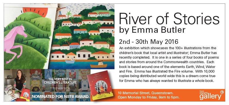 Front Room Emma Butler Exhibition