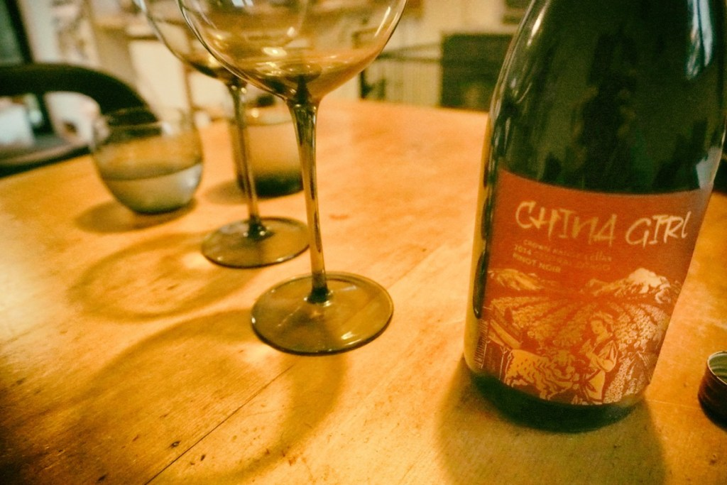 Bringing in the Spring with China Girl Pinot Noir