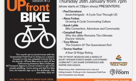 Upfront Bike Session at Frontroom Queenstown