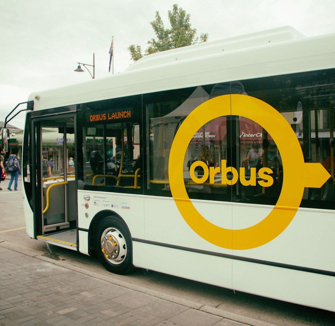 Orbus Queenstown and it's $2 fare