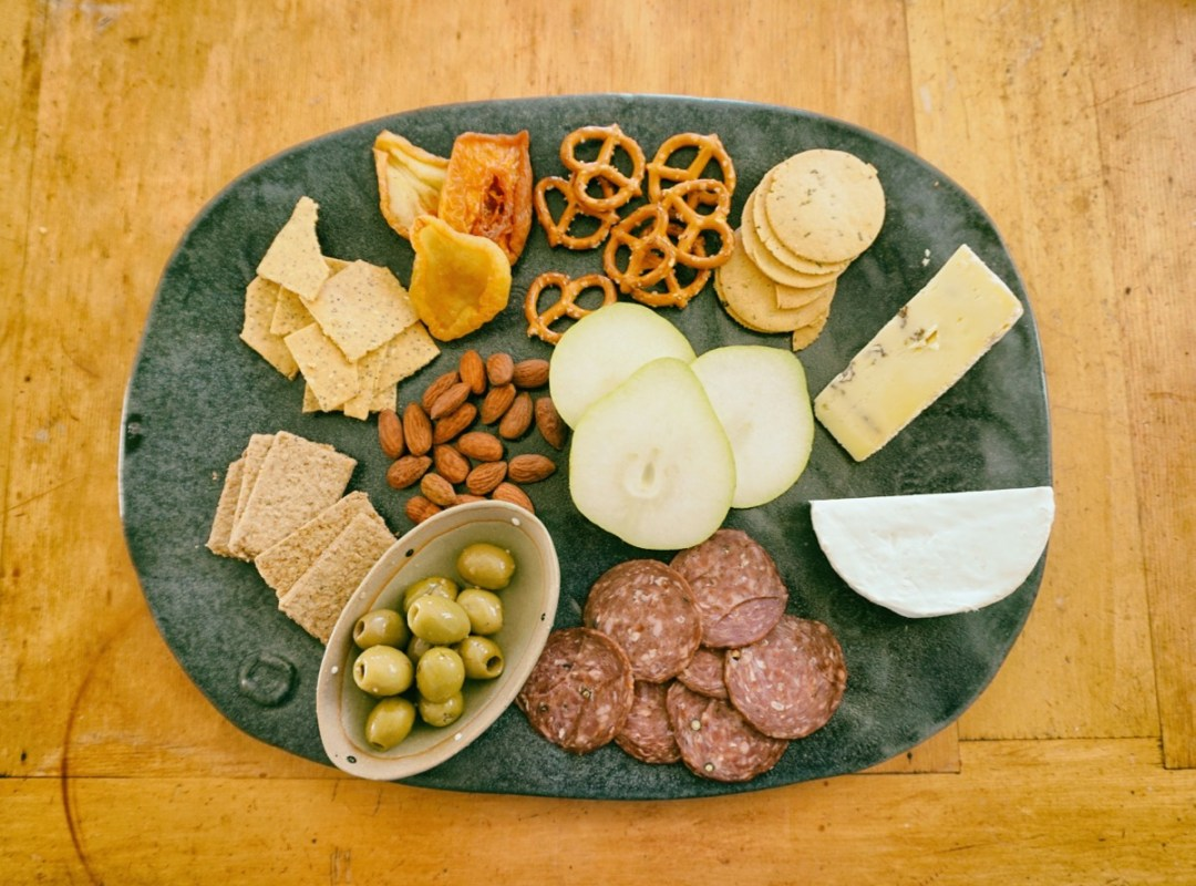 Delicious Platters with Welcome Pack