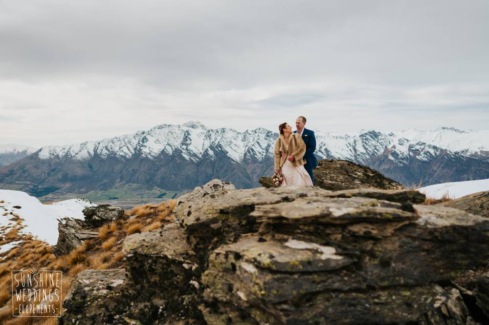 Wedding photographer mountain wedding Queenstown