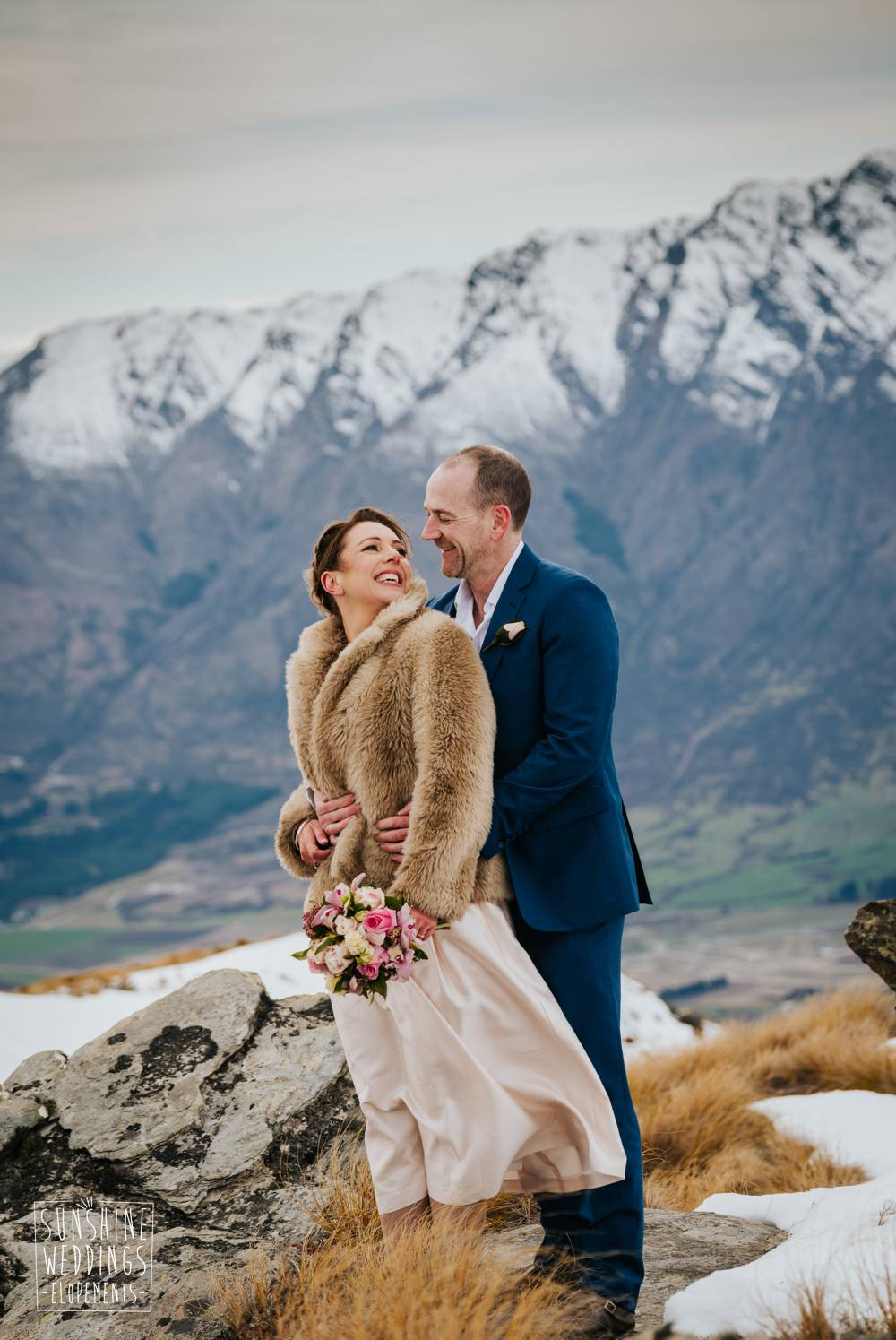 New Zealand mountain wedding planner