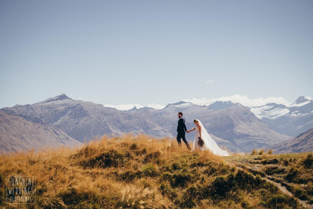 Coromandel Peak elopement wedding photographer
