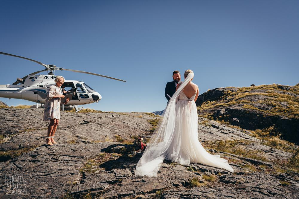 Queenstown mountain wedding Lake Erskine