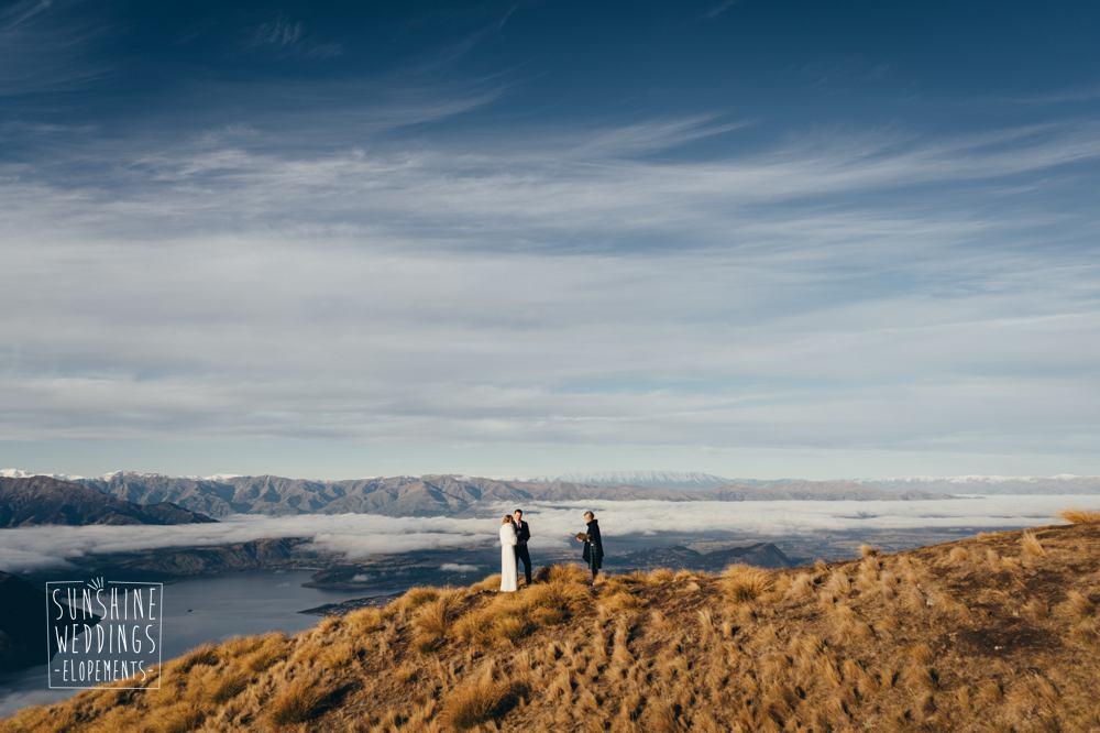 Coromandel Peak mountain wedding planner