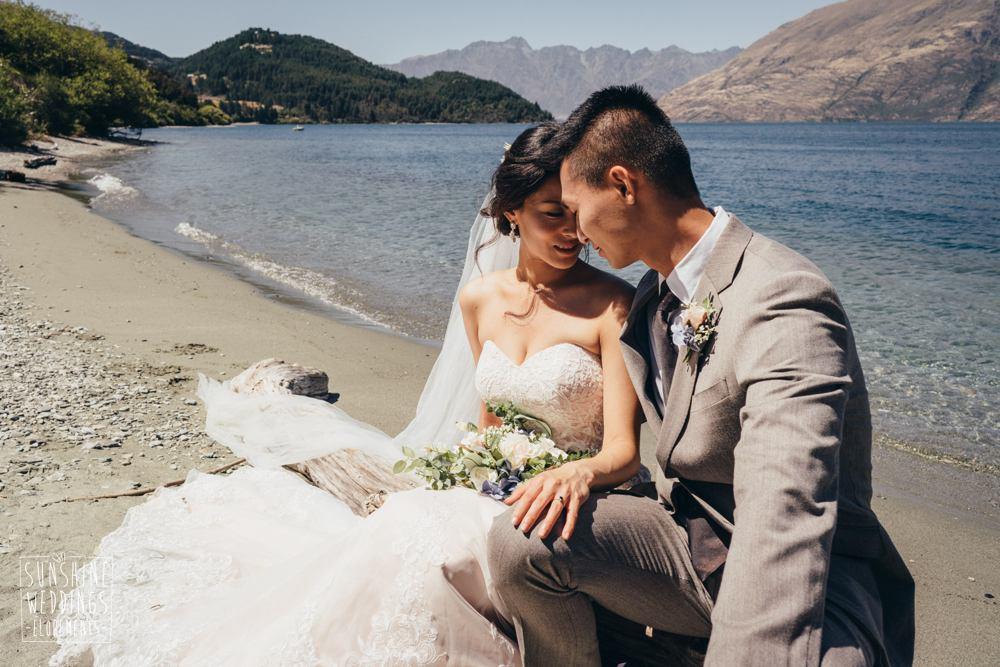 Lake wakatipu elopement wedding photography