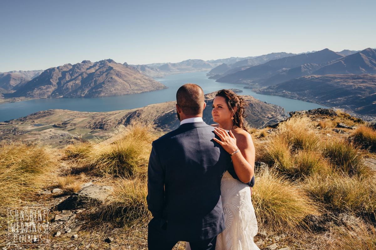 heli wedding Remarkables