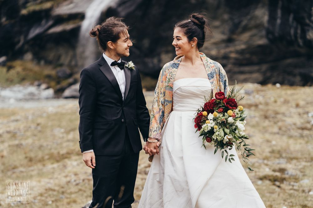 earnslaw burn mountain wedding