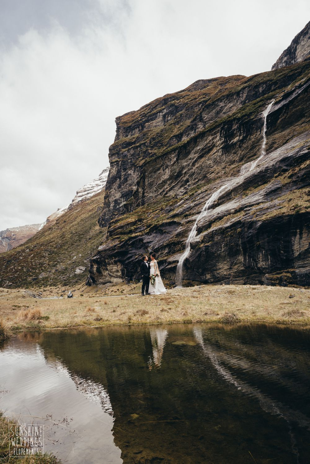 earnslaw mountain wedding