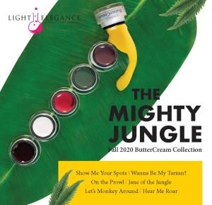The Mighty Jungle BUTTERCREAM COLECCIÓN | LIGHT ELEGANCE