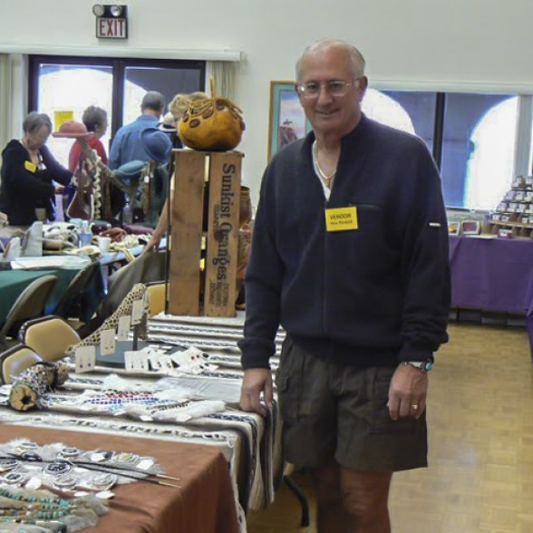 Vendors at the Craft Sale
