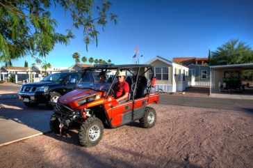 Off Roader's Heaven Queen Valley RV Resort