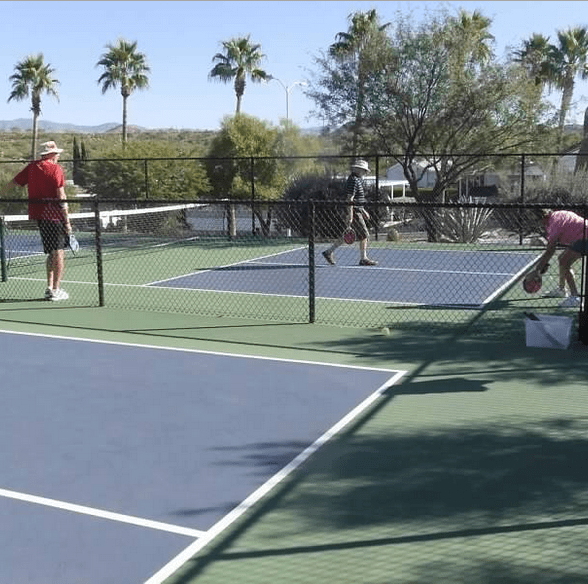 Get competitive with Pickleball