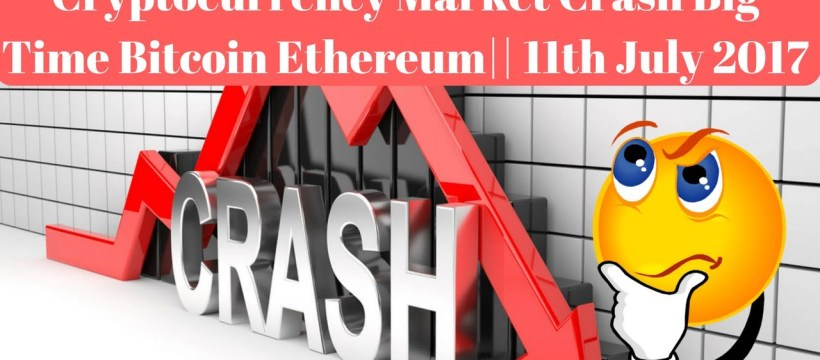 Cryptocurrency, Bitcoin, Ethereum, Altcoins, Prices Falling July 2017