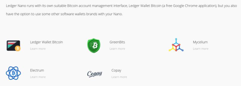 Ledger Nano S Wallet Integration