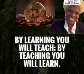 Cryptocurrency - Learn - Teach - Learn