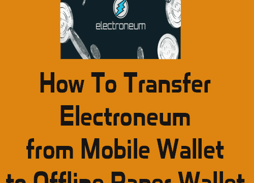 How to transfer cryptocurrency to your wallet
